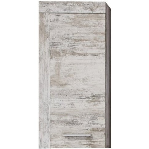 Wildon Wooden Bathroom Storage Wall Cabinet In Canyo...