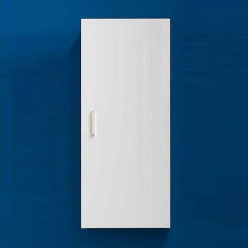 Wilmore Wall Mounted Bathroom Cabinet In White High ...