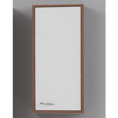 Madrid1 Bathroom Wall Cabinet In Plumtree And White ...