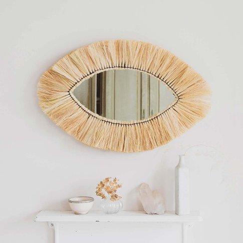 Kula Grass Oval Mirror