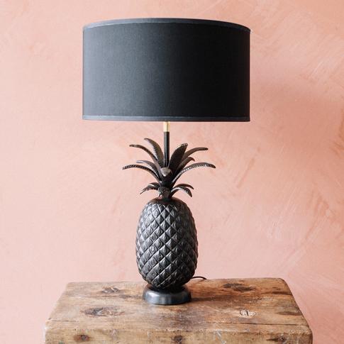 Bronze Pineapple Table Lamp