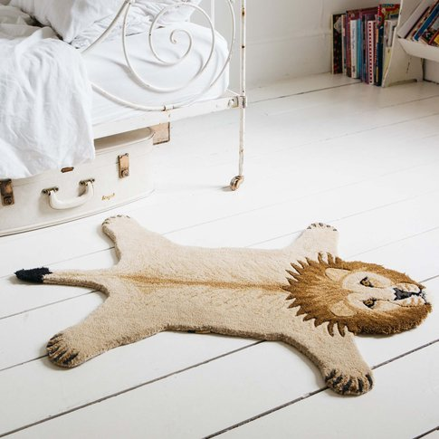 Small Larry Lion Rug