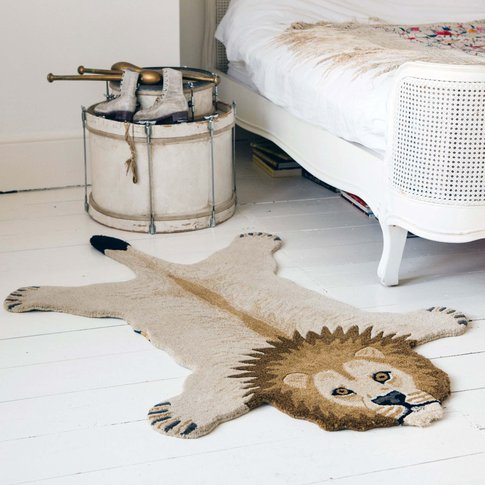 Large Larry Lion Rug