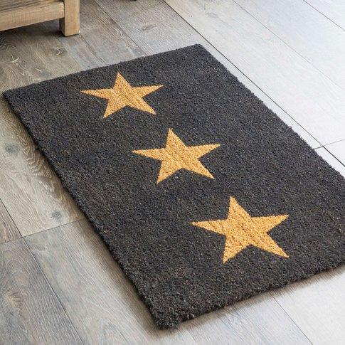 Three Star Doormat