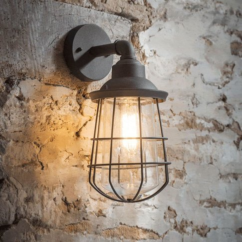 Finsbury Wall Light Charcoal