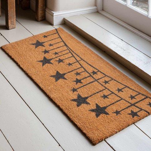 Star Bunting Double Doormat