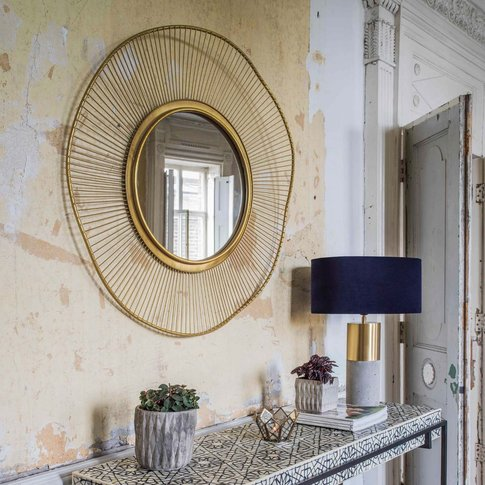 Solstice Gold Mirror
