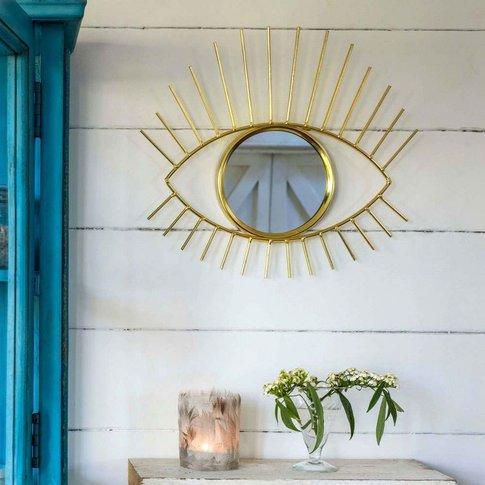 Golden Eye Mirror