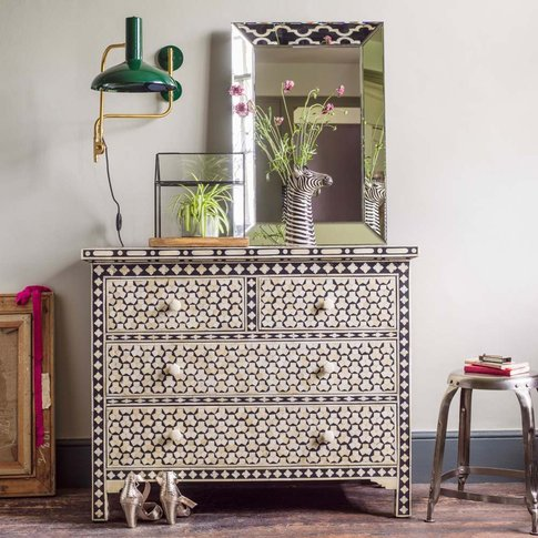 Beaumont Bone Inlay Chest of Drawers