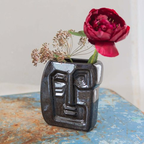 Small Jude Face Vase