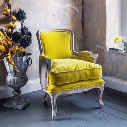Clemance Mustard Armchair
