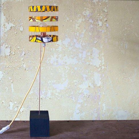 Zuri Yellow Table Lamp