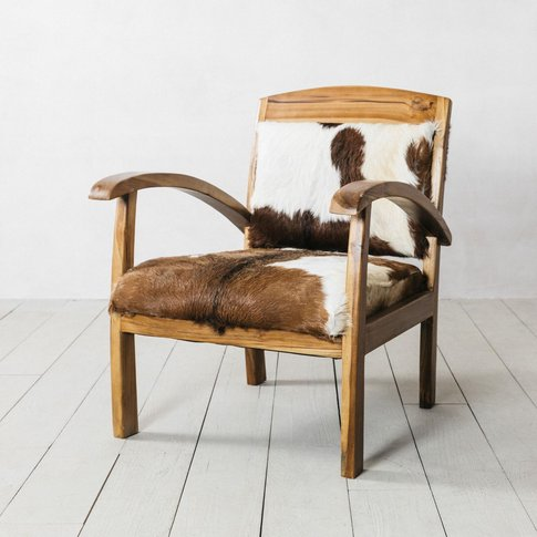 Goat Hide Armchair