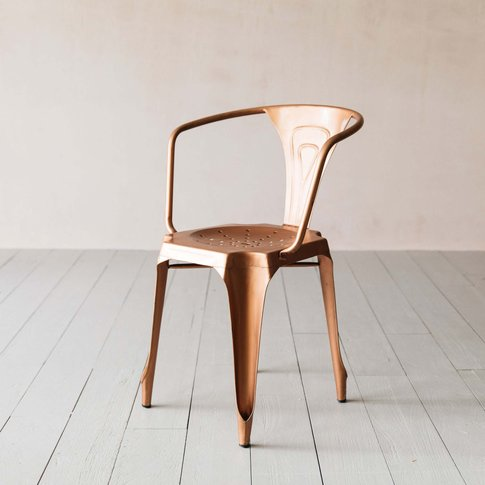 Isaac Copper Armchair