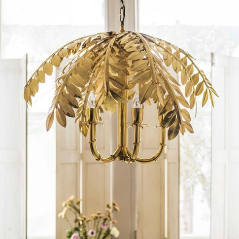 Aralia Palm Chandelier