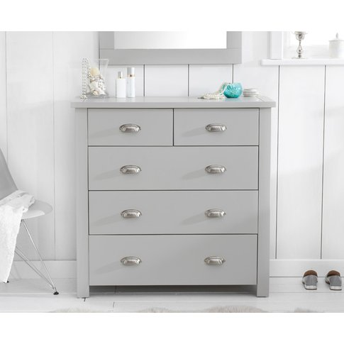 Somerset Grey 2 Over 3 Drawer Chest