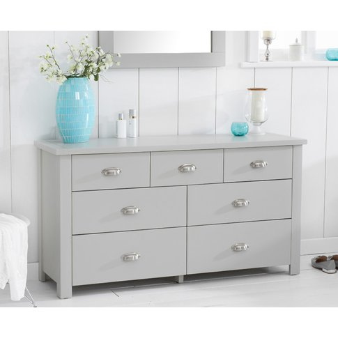 Somerset Grey 3 Over 4 Drawer Chest
