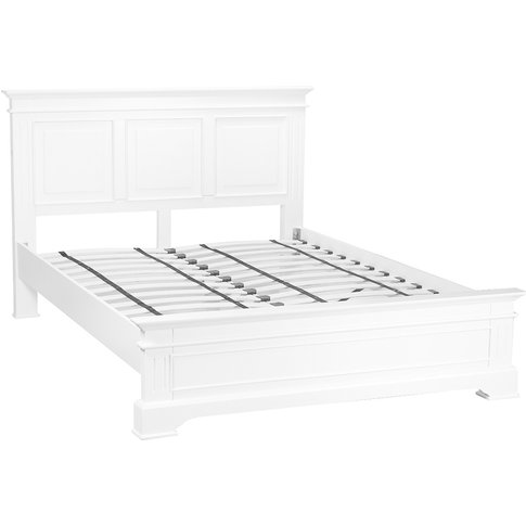Bailey White Kingsize Bed Frame