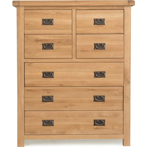 Sasha 4 Over 3 Drawer Chest