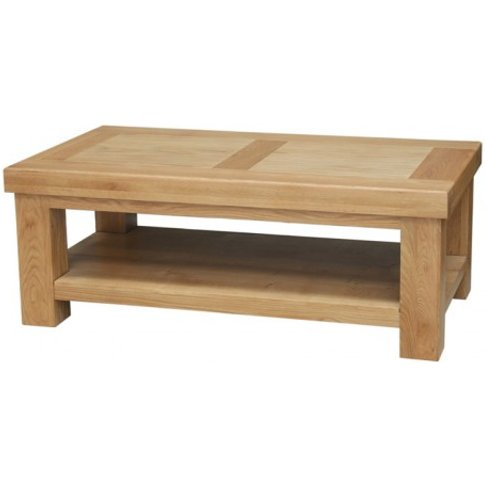 Luanda Oak Coffee Table