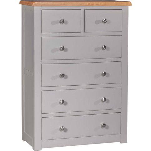 Roberta 2 Over 4 Drawer Chest