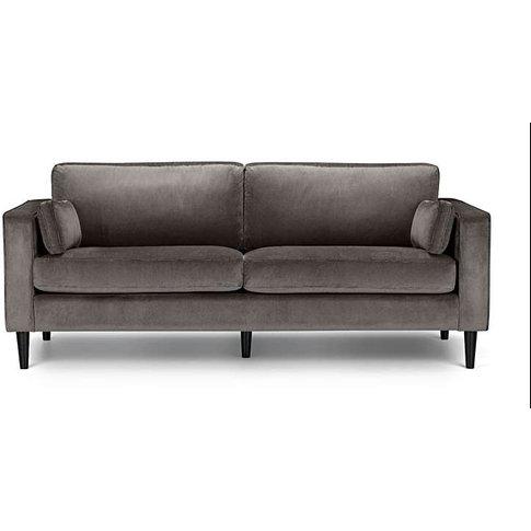 Hazel Velvet Grand 3 Seater Sofa