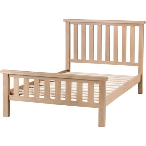Ruby Oak Double Bed Frame