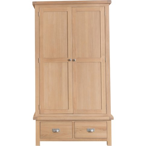 Ruby Oak 2 Door 2 Draw Wardrobe