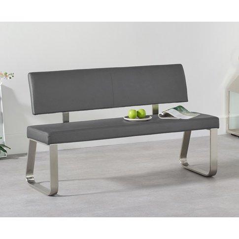 Malaga Medium Grey Bench