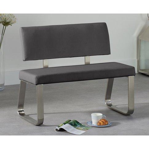 Malaga Small Grey Bench