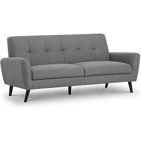 Monica Compact Retro 3 Seater Sofa