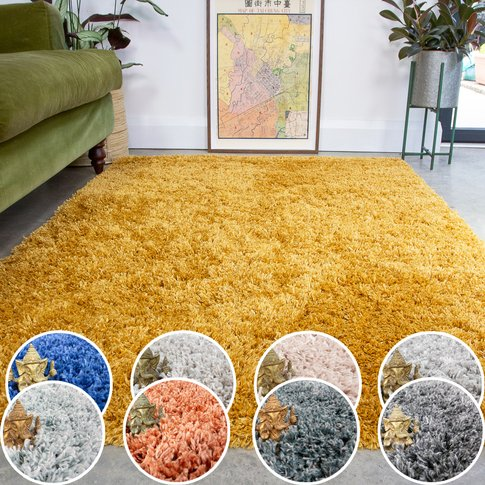 Super Soft Luxury Shaggy Rugs  - Choose Your Colour