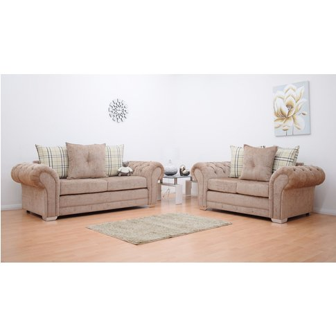 Grampian 3 & 2 Seater Luxurious Fabric Sofa