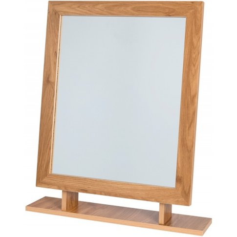 Holland Oak Effect Mirror