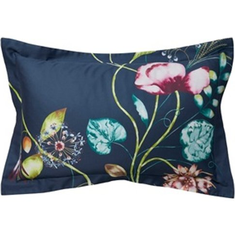Quintessence Pillow Case Oxford Navy