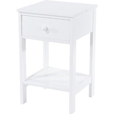 Shaker 1 Drawer Petite Bedside Cabinet