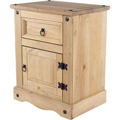 Brazil Original 1 Door, 1 Drawer Bedside Cabinet