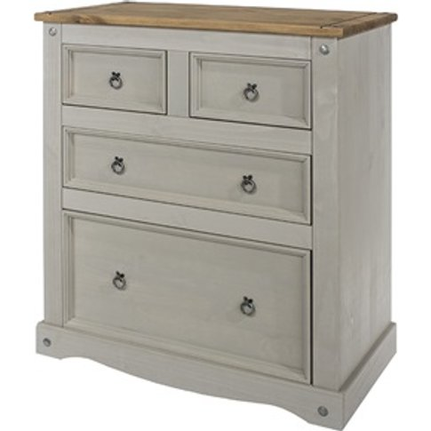 Brazil Grey 2+2 Drawer Chest