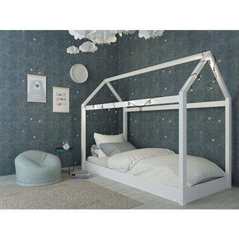Hickory House Bed White