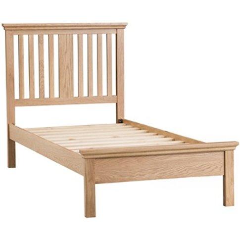 Sheringham Slatted Solid Oak Bed Frame