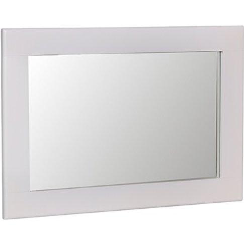 Norfolk White Small Wall Mirror