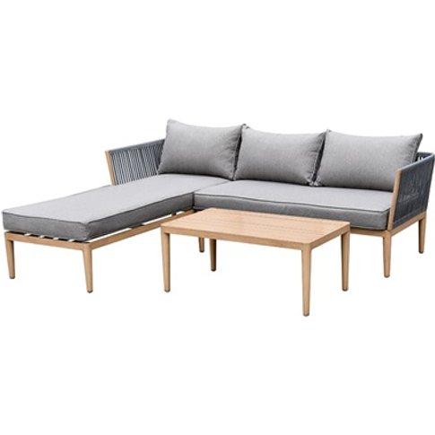 Palma 3 Seat Chaise Sofa Set