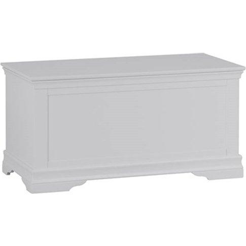 Cambridge White Blanket Box