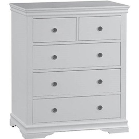 Cambridge Grey 2 Over 3 Drawer Chest