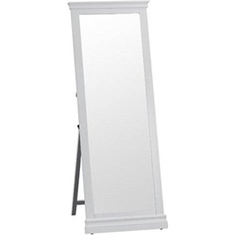 Cambridge Grey Cheval Mirror