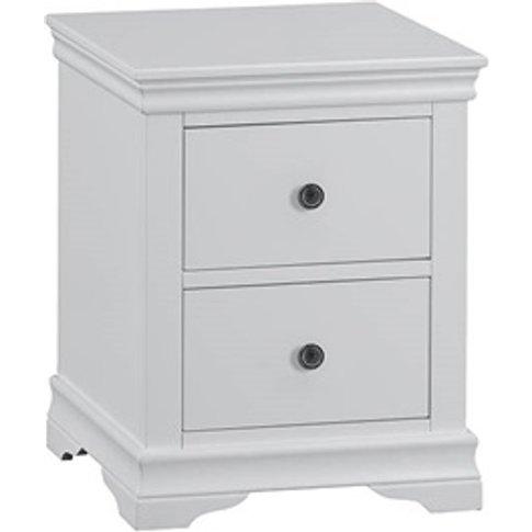 Cambridge Grey Large Bedside Cabinet