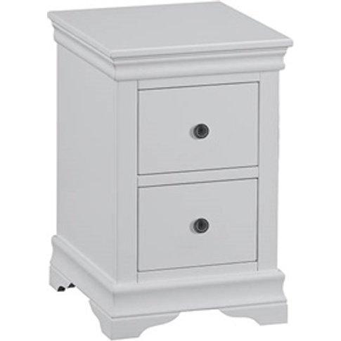 Cambridge Grey Bedside Cabinet