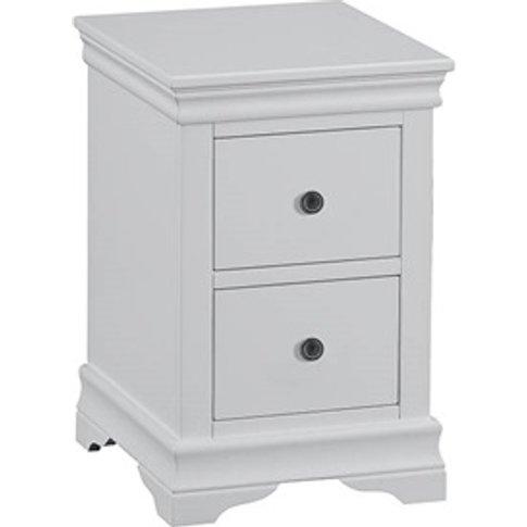 Cambridge White Bedside Cabinet