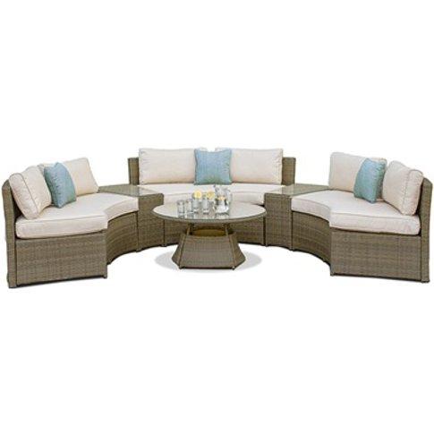 Tuscany Half Moon Sofa Set