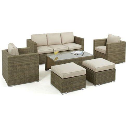 Tuscany 3 Seat Sofa Set